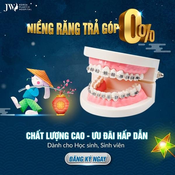 Top 10 nha khoa niềng răng trả góp uy tín nhất TP.HCM
