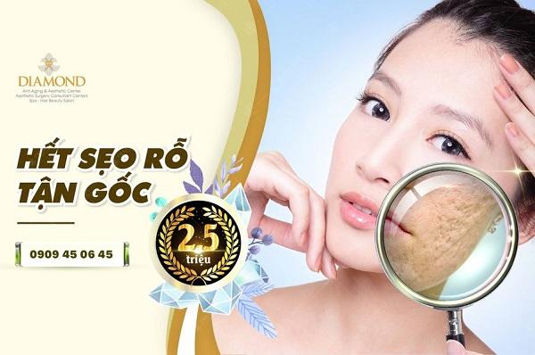 Top 10 thẩm mỹ viện trị sẹo (rỗ, lồi, bỏng) tốt nhất TP.HCM